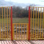 Puerta en Panel Tierra